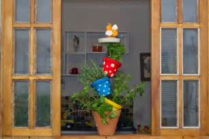diy vertical herb garden made of pots cute idea for your indoor herb garden ideas creative juice