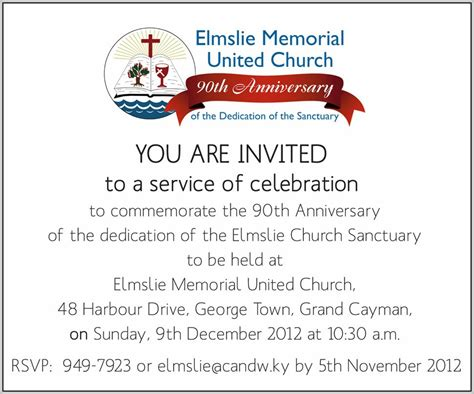 Church Anniversary Invitation Templates Template Resume Exles Nbdlz7zmoa Church Invitations Templates