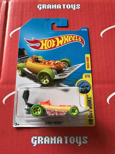Wheels Hotwheels Wiener wiener 331 2017 wheels p new 1 grana toys