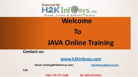 online tutorial on java java online training and placement in atlanta