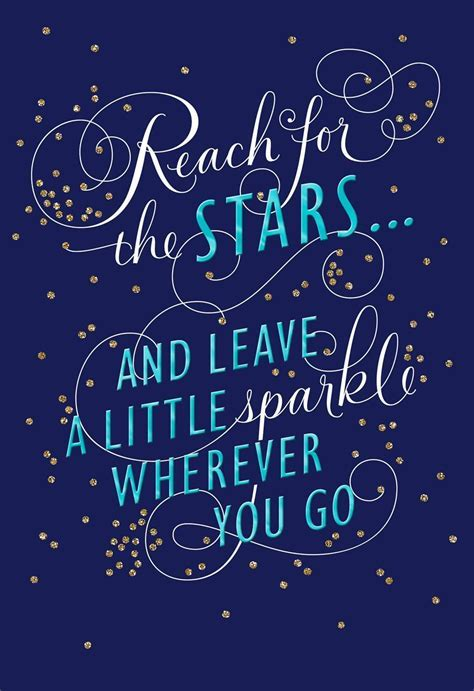 Stars and Sparkles Graduation Card for Relative   Greeting