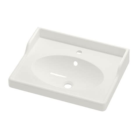 Ikea Rattviken Wastafel Single 80x49x6 Cm R 196 Ttviken Single Wash Basin 60x49x6 Cm Ikea