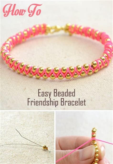 Easy Handmade Bracelets - easy handmade jewelry for beaded friendship bracelets