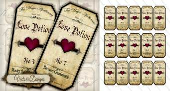 7 best images of high resolution printable potion labels