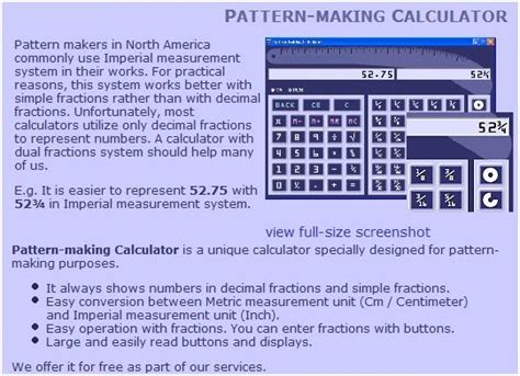 pattern maker calculator meggiecat pattern making calculator