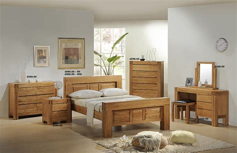 Chunky Oak Bedroom Furniture Mfp Furniture