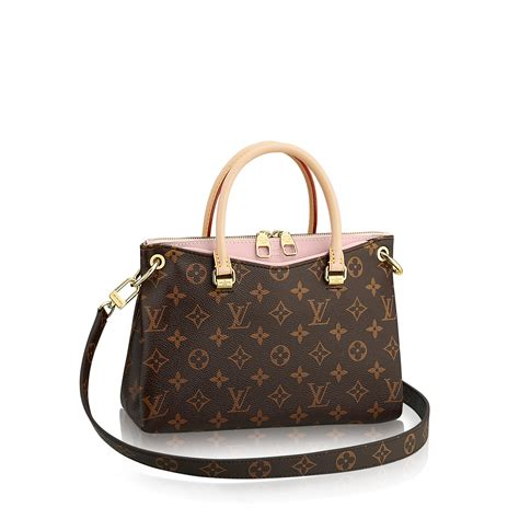 Are Louis Vuitton Bags Handmade - pallas bb monogram canvas handbags louis vuitton