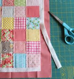 binding a quilt using the backing brilliant crafting