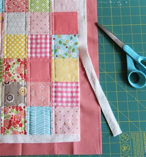 Patchwork Binding - binding a quilt using the backing brilliant quilting