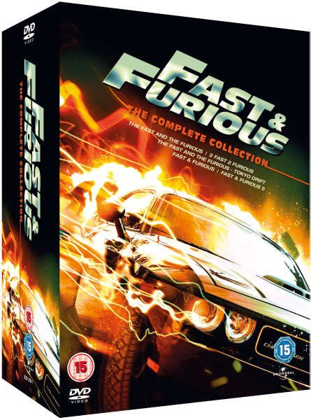 fast and furious dvd set fast and furious 1 5 the complete collection dvd zavvi com