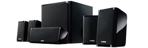 Yamaha Ns Pa40 Speaker 5 1ch Hitam スリムデザインで美しくシアター空間を演出する 5 1chスピーカーパッケージ ns pa40 フレキシブルに