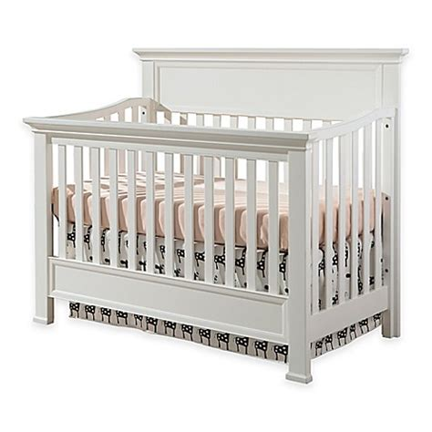 westwood design wyatt convertible crib in white bed bath