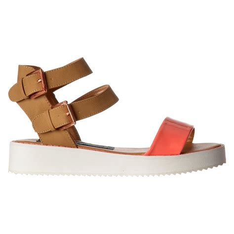 sole sandals shoekandi flatform cleated sole summer sandals ankle