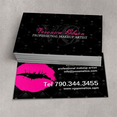 Lipsense Card Template by Fully Customizable Tufted Business Card Template