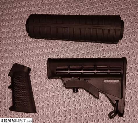 How Does It Take For Furniture To Gas by Armslist For Sale Ar15 Handguard Grip Stock Set