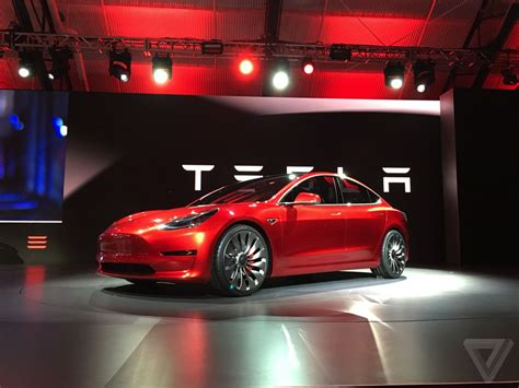 who is telsa the 35 000 tesla model 3 in pictures the verge