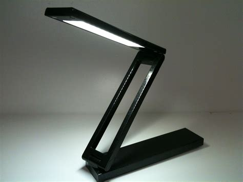 Portable Lighted Desk by Led Portable Compact Desk L Black