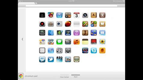 Themes For Google Chrome On Ipad | chrome os on ipad 2 dreamboard youtube