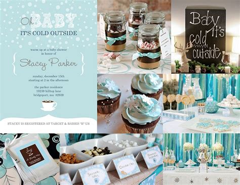 baby shower themes for winter baby blue baby shower invitations baby shower ideas