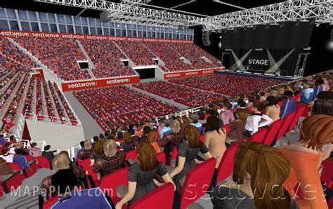 Nec Birmingham Floor Plan by Birmingham Genting Arena Nec Lg Arena Block 6 Row K
