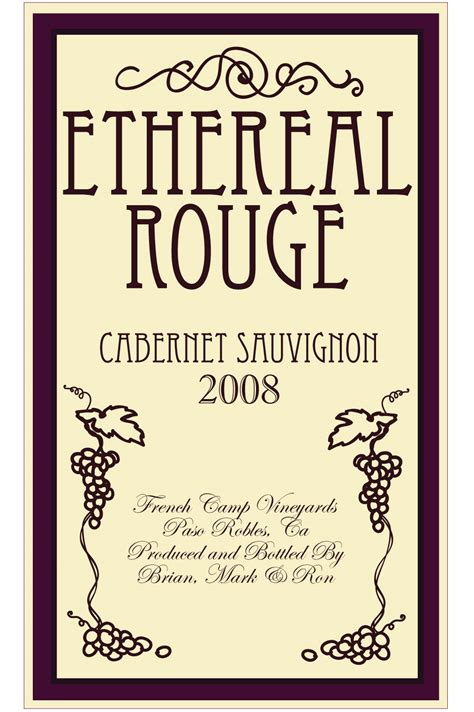 wine bottle label templates sam s sketchbook wine bottle label