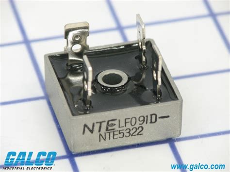 nte diode bridge nte5322 nte electronics single phase standard diode bridges galco industrial electronics