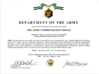 tag army certificate of appreciation quelques liens utiles