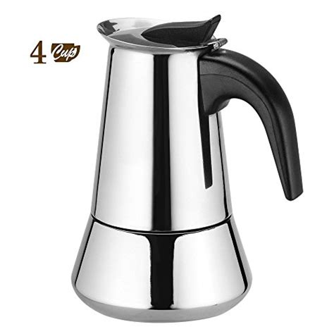 Moka Pot Manual Espresso Coffee Maker 2 Cup rm173 80 stainless steel stovetop moka pot coffee