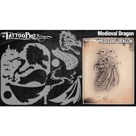 tattoo kit perth wiser s tattoo pro medieval dragon
