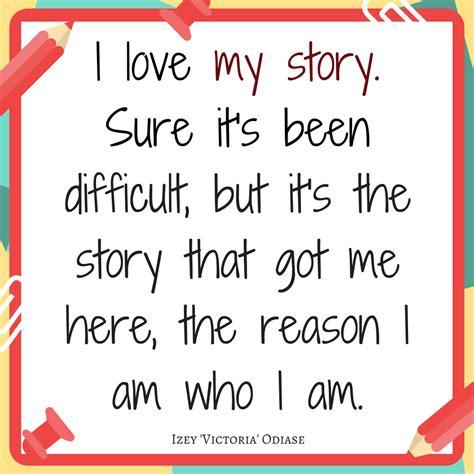 My Story i my story izey odiase