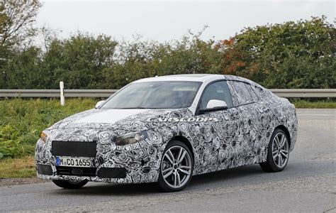bmw  series gran coupe spotted   time