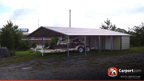 carport shop steel utility carport 20 x 31 x 8 clearance shop
