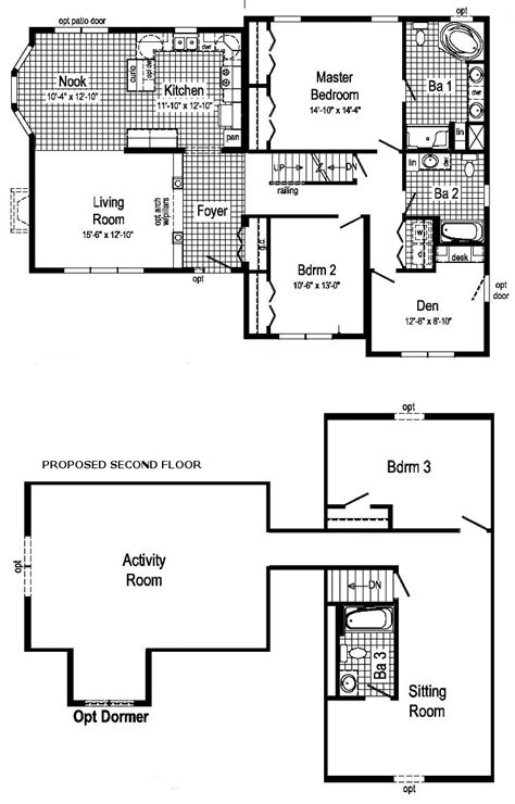 Carefree Homes Floor Plans | carefree modular home floor plan