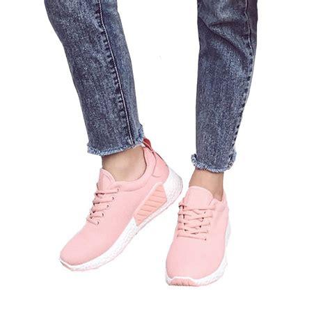 Sepatu Fashion Wanita Pink bayar di tempat fashion wanita sepatu sneakers lari