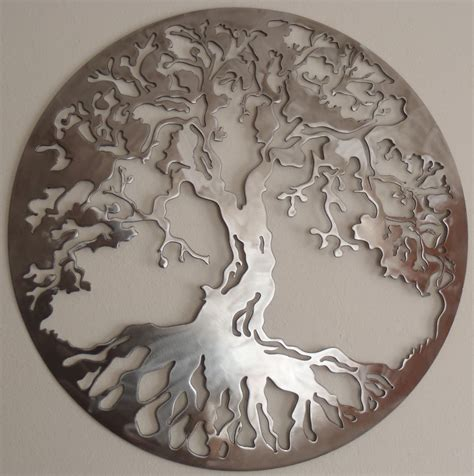 wall decor metal tree of metal wall decor