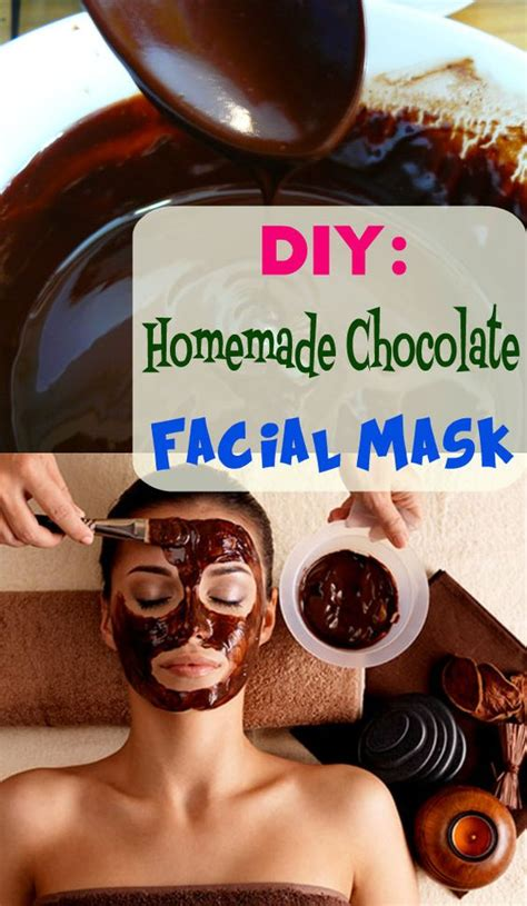 chocolate mask diy diy chocolate mask health