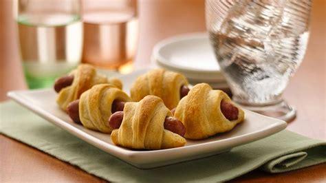 mini crescent dogs mini crescent dogs recipe from pillsbury
