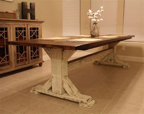 rustic pedestal dining table best 20 custom dining tables ideas on farm