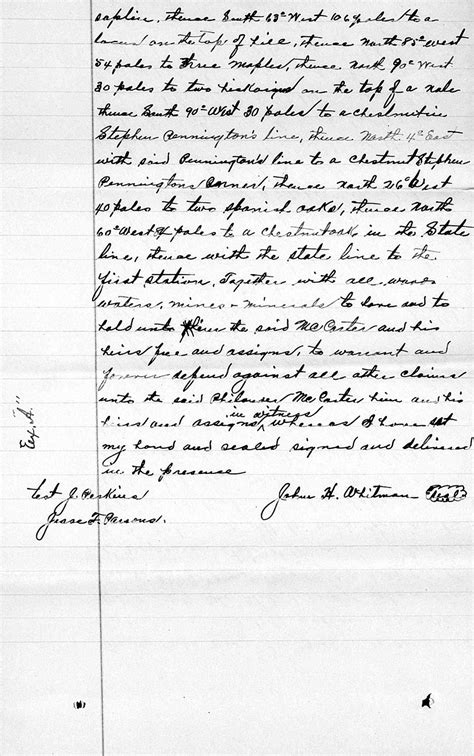 Ashe County Records Philander Mccarter Property