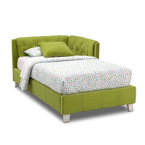 Jordan Twin Corner Bed   Green   American Signature Furniture