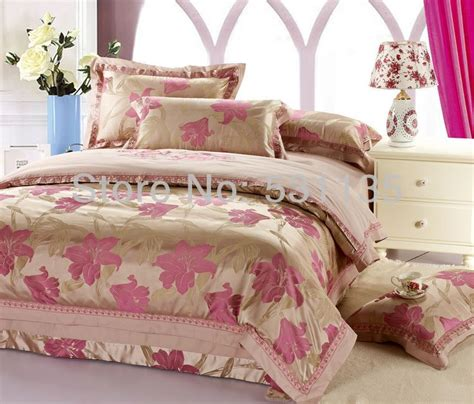 Popular Pink Gold Bedding Buy Cheap Pink Gold Bedding Lots Pink And Gold Bedding Sets