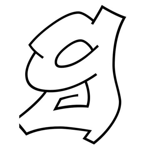 immagini delle lettere disegno di lettera g da colorare per bambini