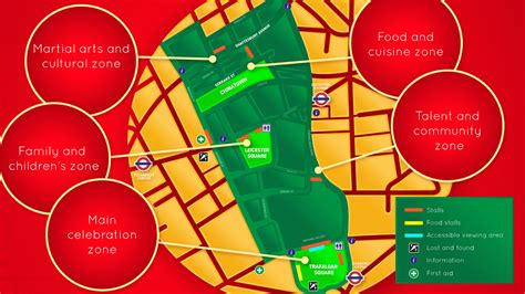 new year parade map new year in what s on visitlondon