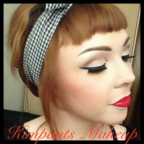 tutorial eyeliner pin up pin up style makeup see the tutorial on http www youtube