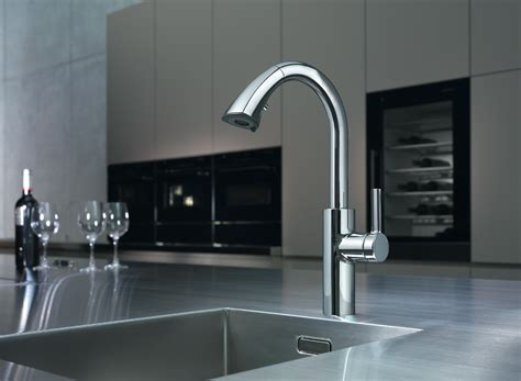 kwc saros single lever prep faucet also comes equipped