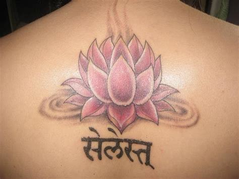 red lotus flower tattoo 35 lovely lotus flower tattoos slodive