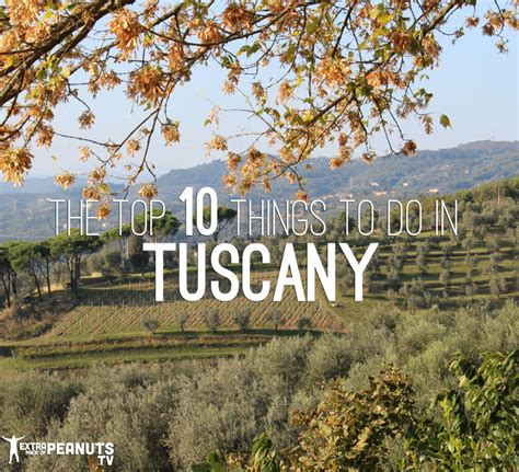 best things to do in italy top 10 things to do in tuscany italy pack of peanuts