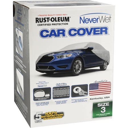 Cover Walmart by Rust Oleum Neverwet Car Cover Size 3 Walmart