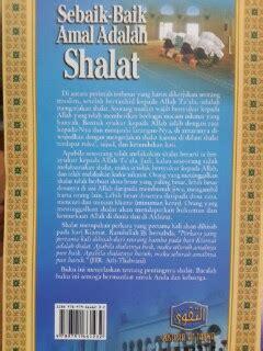 Takwa Jalan Sukses Abadi buku sebaik baik amal adalah shalat toko muslim title