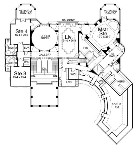 villa home plans all architectural designing villa cornaro house plan